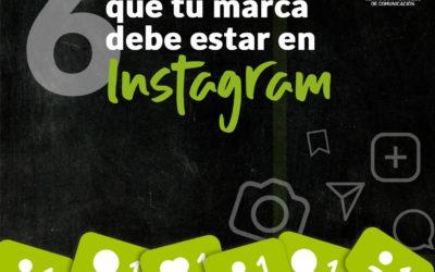 ¿Porqué tu marca debe estar en Instagram?